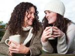 Women and hot chocolate II