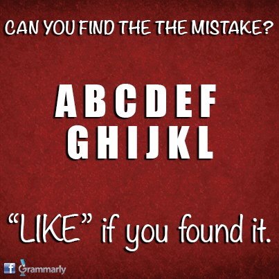mistake grammarly