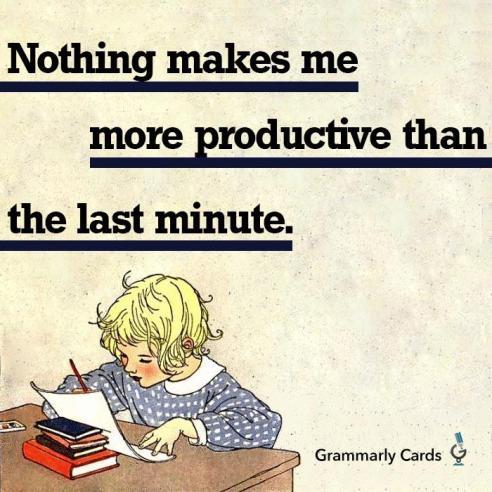 grammarly  Last Minute