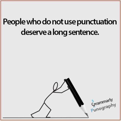 sentence funny